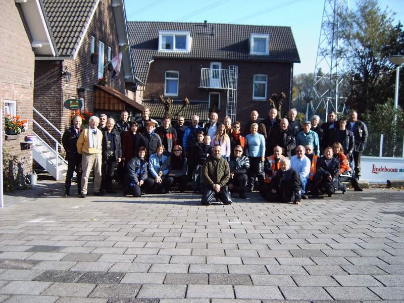 Groepsfoto herfstrit 2005 tpv  camping In Den Hof